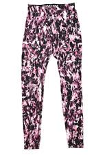 NIKE | Women's Training Gym Tights | Pink & Black Camo Print | Size: S