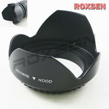 67 mm 67mm Screw Petal Crown Lens Hood for Canon Nikon Tamron Sigma DSLR camera
