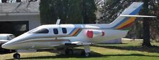 ST600-S Foxjet USA Light Business Jet Airplane ST600S Mahogany Wood Model Large