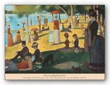 ART PRINT Sunday Afternoon on the Island of La Grande Jatte Georges Seurat 32x22