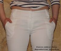 Trousers Cotton New Woman Stretch Pierre-Cedric