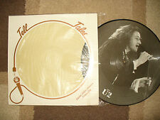 U2 BONO  PICTURE DISC TELL TALES rare limited edition See inside