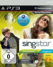 SingStar: Chartbreaker (Sony PlayStation 3) Ps3