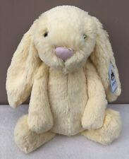 Jellycat Medium Lemon Bashful Bunny Soft Rabbit Toy Retired