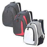 Shugon Geneva Backpack Stylish Rucksack Bag Sports School Work Gym (SH7241)
