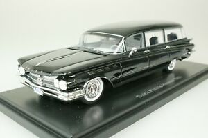 Buick Electra Flxible Hearse 1960 Black 1/43 Neo 44689 New