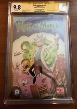 Rick And Morty #39 Signed Alex Kotin CGC 9.8 SS-Amazing Fantasy #15 Homage Cover