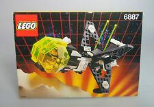 LEGO® Space Classic Bauanleitung 6887 Blacktron Raumschiff ungelocht Anleitung