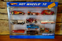 Hot Wheels 10 Vehicle Gift Pack Diecast Cars Exclusive Decorations Unique Design