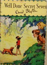 Blyton, Enid, Well Done, Secret Seven, Hardcover, Very Good Book