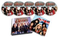 SAXON VOL. 1 EARLY LIVE 5 CD