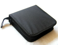 Leather Look Cover / Case / Folder / Pouch for 40 CD CDs / DVD DVDs