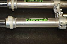 #822 2004 Kawasaki kx 250f   front forks w/triple clamp