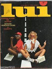 ¤ LUI n°164 ¤ 09/1977 ¤ DINO RISI / BOUDARD / ASLAN