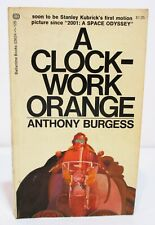 A CLOCKWORK ORANGE by ANTHONY BURGESS - 1971 SIXTH BALLANTINE PAPERBACK PRINTING