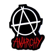 Anarchy patch Punk Biker Rocker sew iron on Button Sex Heavy Rock n roll Pistols