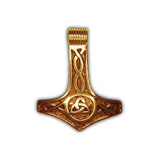 Rob Ray – Anhänger Thors Hammer und Göttin der Dreifaltigkeit – Silber vergoldet