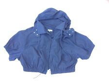 Damen Jacke 🧥 Bolero Kurzjacke Gr 40 Blau Basefield