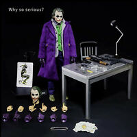 "1:6 Scale The Dark Knight Joker 20 DX 11 1/6TH 12"" Action Figure"
