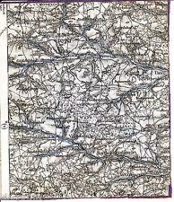 Rohr Buchschwabach Kottensdorf 1889 1906 Teilkarte /Ln. Veitsaurach Moosbach