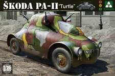 Takom 2024 Wwii Skoda Pa-11 Turtle armored car model kit 1/35