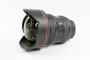 Canon EF 11-24 f/4L Wide Angle Zoom Lens - Nearly New