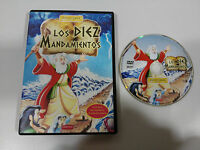 Los Dix Commandements DVD Animation Manches Films Castillan - Am