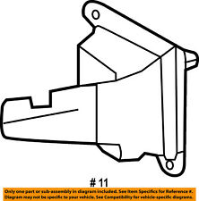 FORD OEM 16-18 Explorer Headlamp-Front Lamps-Bracket Left FB5Z15A455B