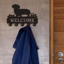 Dachshund Dog Coat Wall Hook Rack Organizer Wall Mounted Sausage Dog Key Hanger
