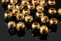 Wholesale Golden / SILVER Metal Round Spacer Beads 2.5mm 3mm 4mm 5mm 6mm 8mm DIY