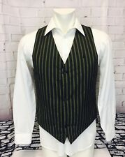 NWOT Burton White Collection Padded Insulated Striped Vest Men's Large