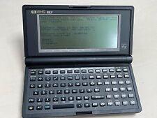 Hewlett Packard Hp 95Lx Vintage Palmtop Computer (Hinge Floppy)
