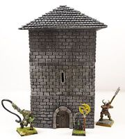WWS Fantasy Historical Stone Tower Keep Building - Wargames Scenery Terrain R47