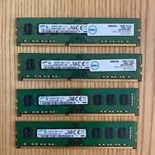 x4no. Samsung 8GB 2Rx8 PC3-12800U-11-13-B1 Desktop RAM Memory DDR3