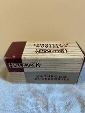 Vintage Hall Mack Bathroom Square Towel Bar Posts 694 Chrome Nib