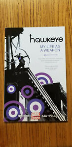 HAWKEYE: MY LIFE AS A WEAPON VOL 1~ MARVEL TPB NEW **PENNY AUCTION (1¢)**