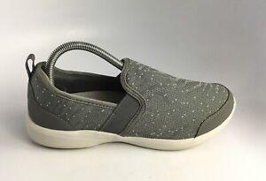 Vionic Roza Slip-on Sneaker Grey Comfort Shoe Women's Sz 8.5 US