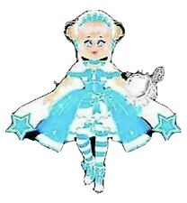 Roblox Royal Royale High Princess Starfrost Star Frost SET Virtual Level 75