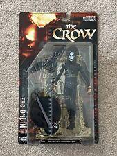 "THE CROW ERIC DRAVEN 7"" Figure Movie Maniacs 2 McFarlane Toys 1999 NIP Brand New"
