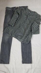 Jeans von street one Gr. 44 34 32 und Bluse Cecil Gr. XL