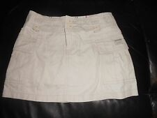 Girls Just Jeans beige cargo skirt  Size 8  (kids)