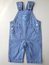 PUMPKIN PATCH BABY BOY OVERALLS DUNGAREES SIZE 000 FITS 0-3M *HARDLY WORN