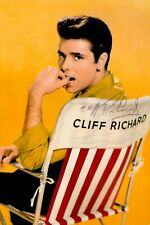 More details for bent sir cliff richard signed 6x4 photo summer holiday genuine autograph + coa