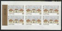 Latvia Sc 509 2000 Riga Zoo Sindelfingen Exhibition stamp booklet mint NH