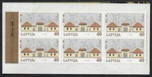 Latvia Sc 509 2000 Riga Zoo Sindelfingen Exhibition stamp booklet mint NH
