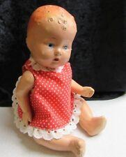 """Vintage Compostion Baby Doll 10 1/2"""" Goddess Jade Dolls"""
