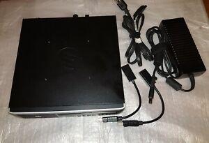 HP Mini Compact PC Intel Core-i3 4GB 500GB Dual HDMI Wireless DVD Drive USB 3.0