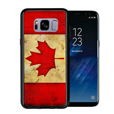 Canada Canadian Flag Grunge For Samsung Galaxy S8 2017 Case Cover by Atomic Mark