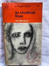 Penguin Books 2154 Iris Murdoch An Unofficial Rose 1st Thus