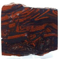 Banded Jasper and Hematite Rough Slab for Lapidary or Display - Australia